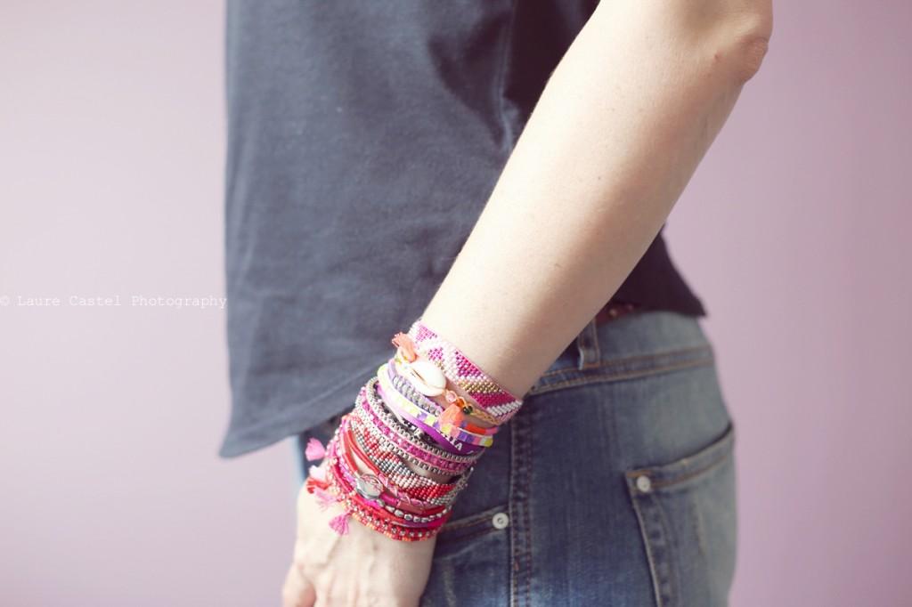 Hipanema manchette bracelet été 2014