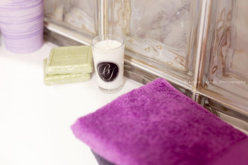 La Belle Toilette serviette de bain Haut de Gamme