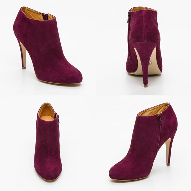 Vente Privée Low Boots violettes Buffalo