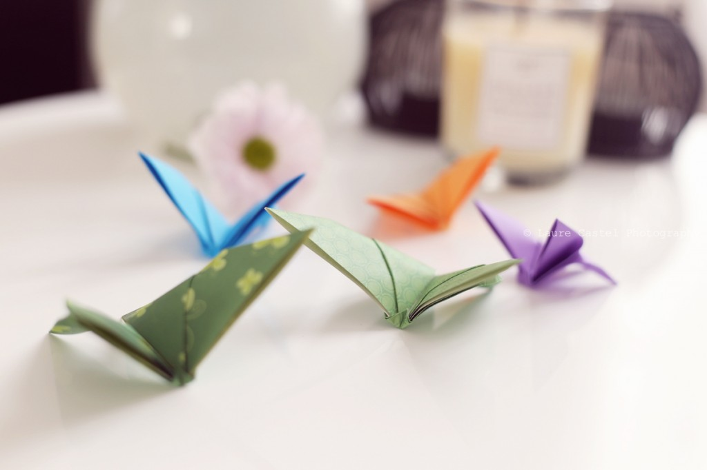 Les Petits Riens DIY Origami Papillons