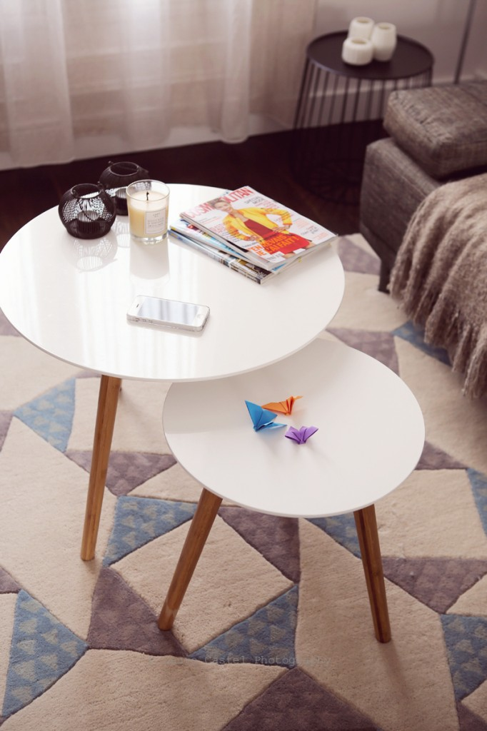 Décoration scandinave Miliboo tables gigogne