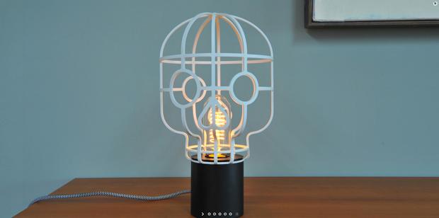 Lampe Orphée Ollumi design