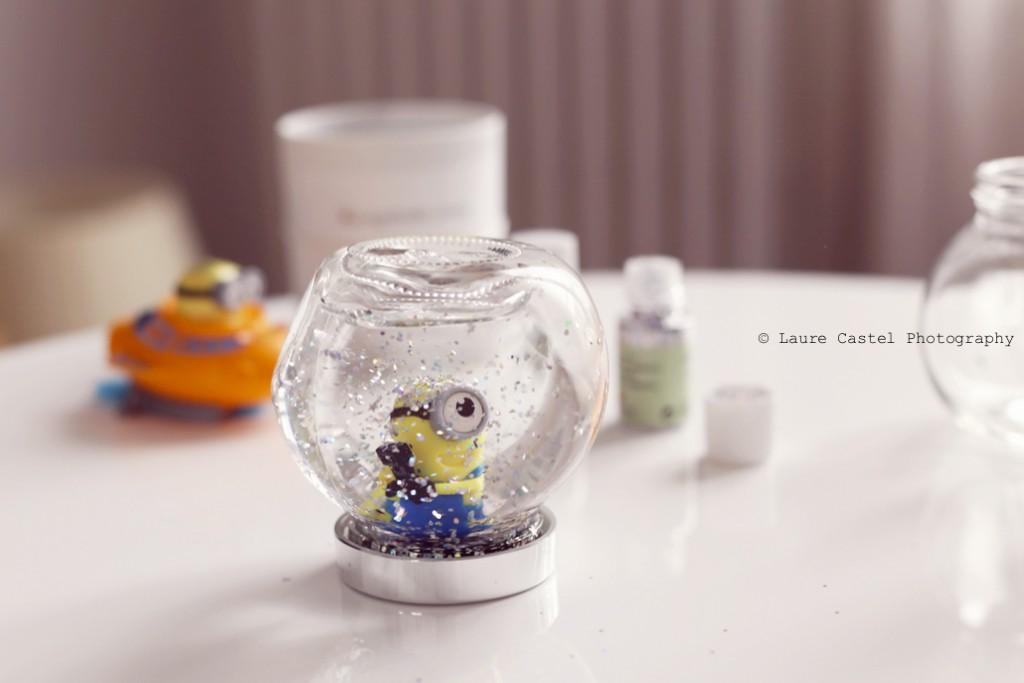DIY Une boule à neige maison Minion
