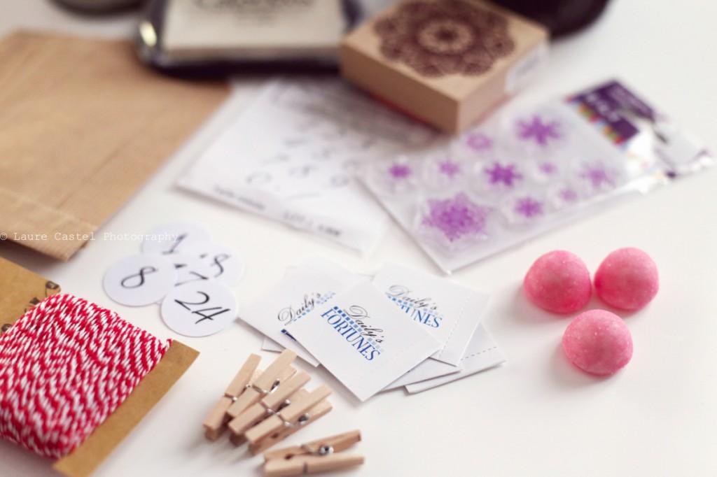 DIY Calendrier de l'avent 2014 Les Petits Riens