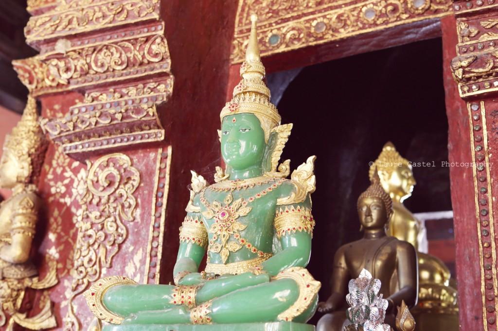 Les Petits Riens Thailande Chiang Mai Wat Phra Sing Bouddha d'émeraude