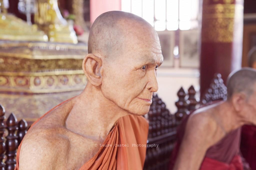 Les Petits Riens Thailande Chiang Mai Wat Phra Sing Statues de cire