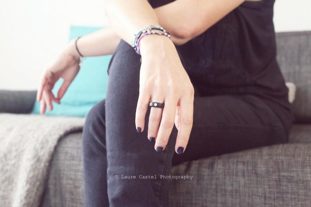 Bagues Anarchik diamant anneau interchangeable
