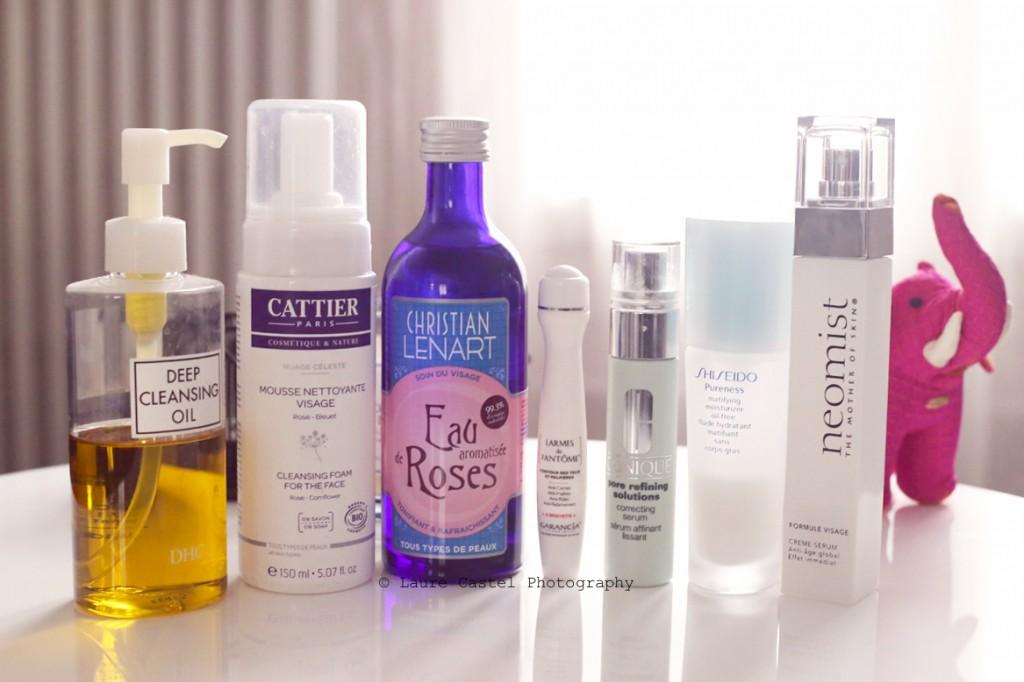 DHC Cattier Eau de Rose Garancia Clinique Shiseido Neomist