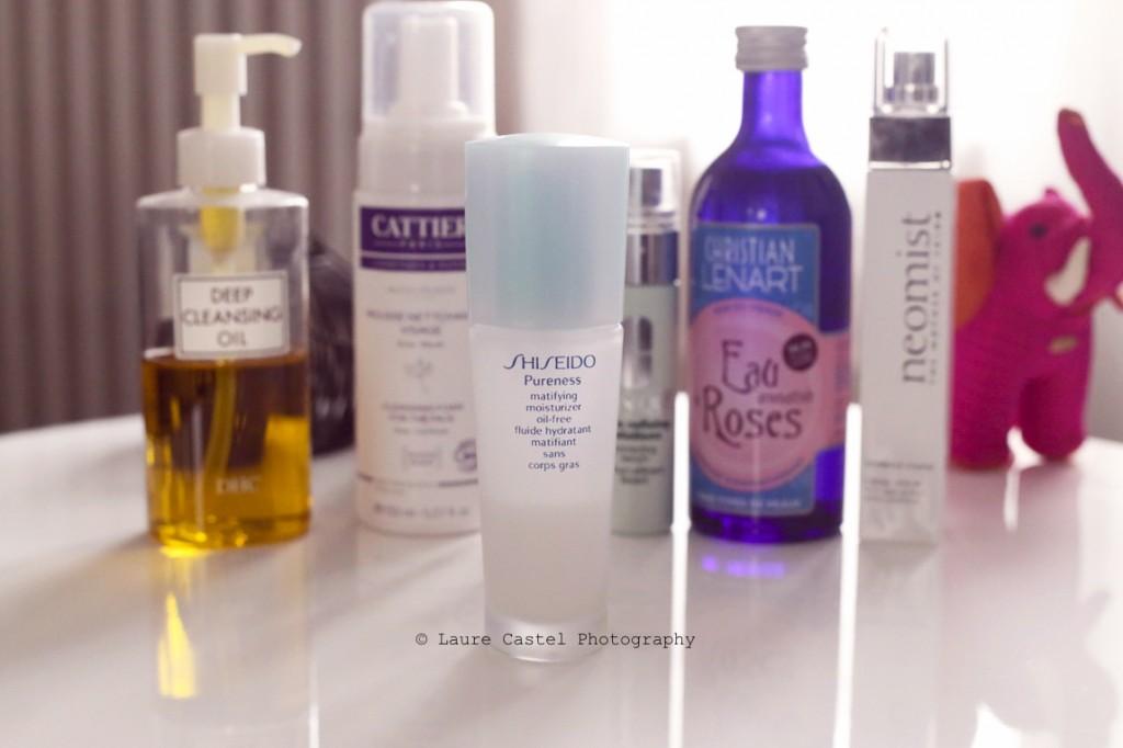 Cattier Eau de Rose Garancia Clinique Shiseido Neomist