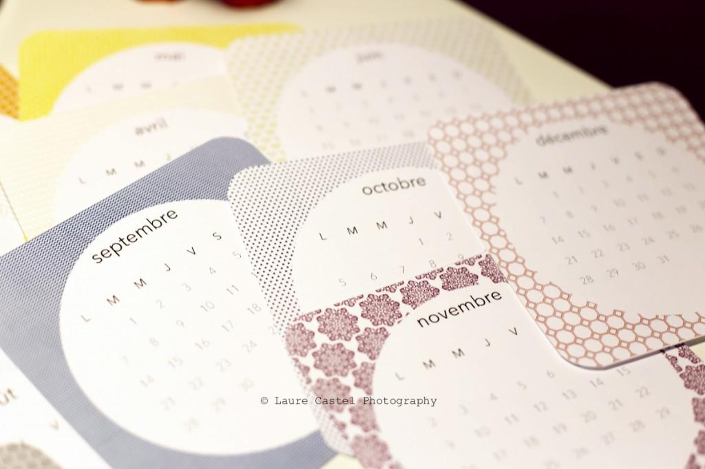 Calendrier 2015 à imprimer Les Petits Riens