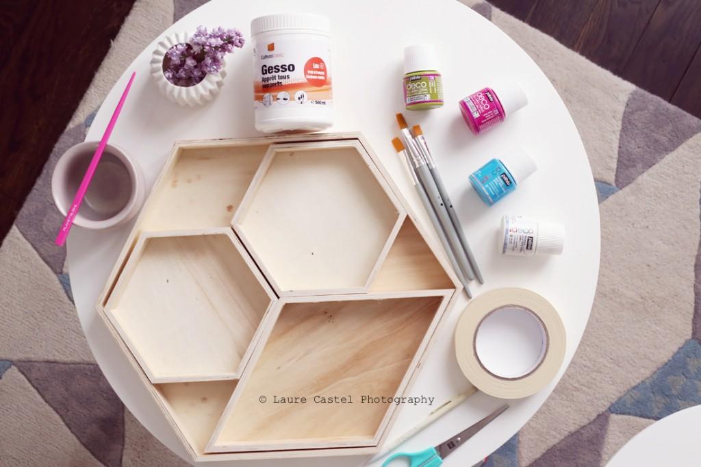 DIY Peinture objets en bois Cultura Les Petits Riens