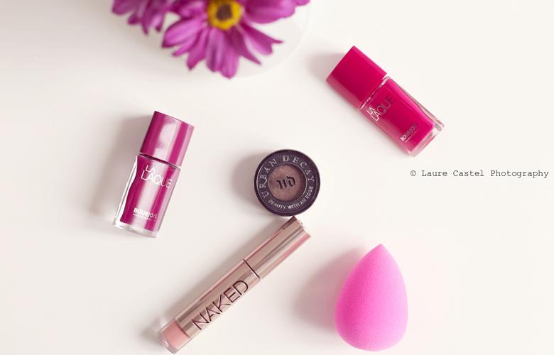 Achats beauté Urban Decay Naked Gloss Beauty Blender Vernis La Laque Bourjois