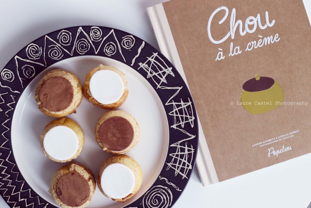 Chou à la crème recette Popelini