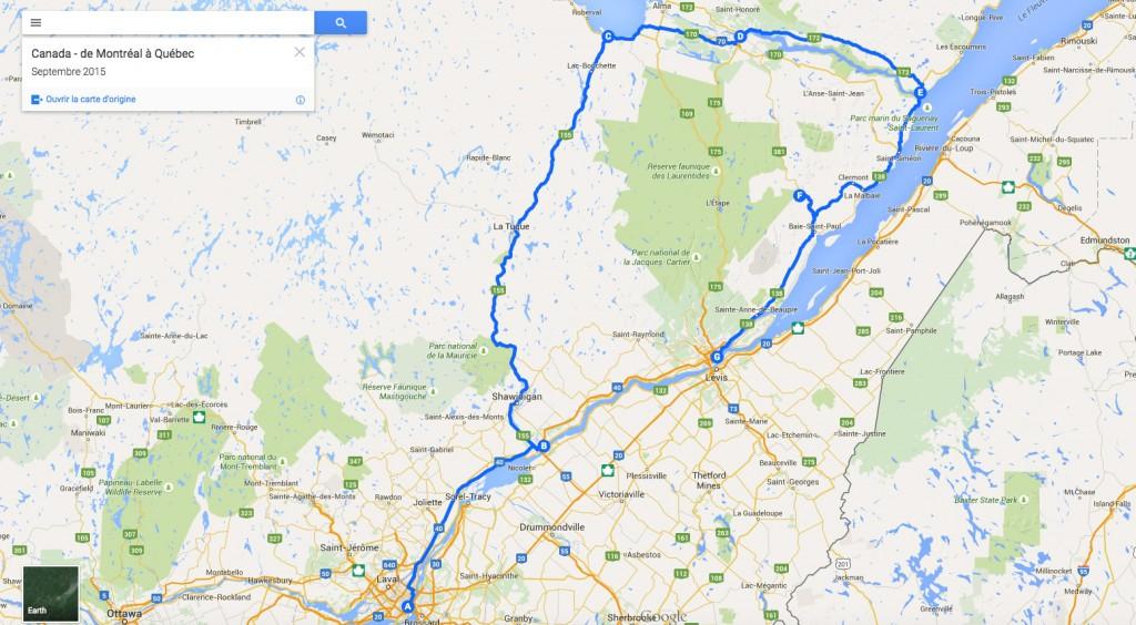 Circuit Canada septembre 2015 Les Petits Riens