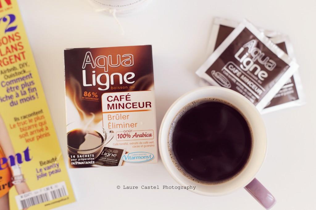Laboratoires Vitarmonyl Aqualigne Café Minceur avis Les Petits Riens