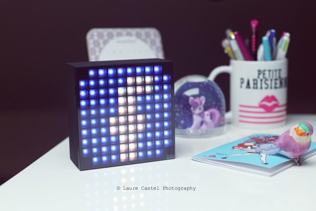 Enceinte Bluetooth LED Divoom AuraBox Smart Retro Pixel avis