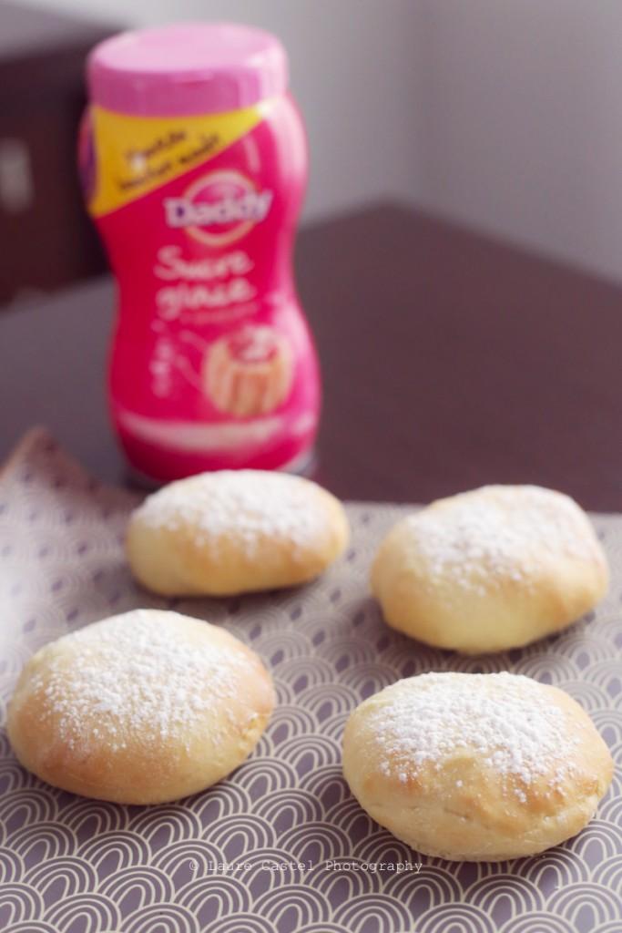 Recette beignets au four Les Petits Riens