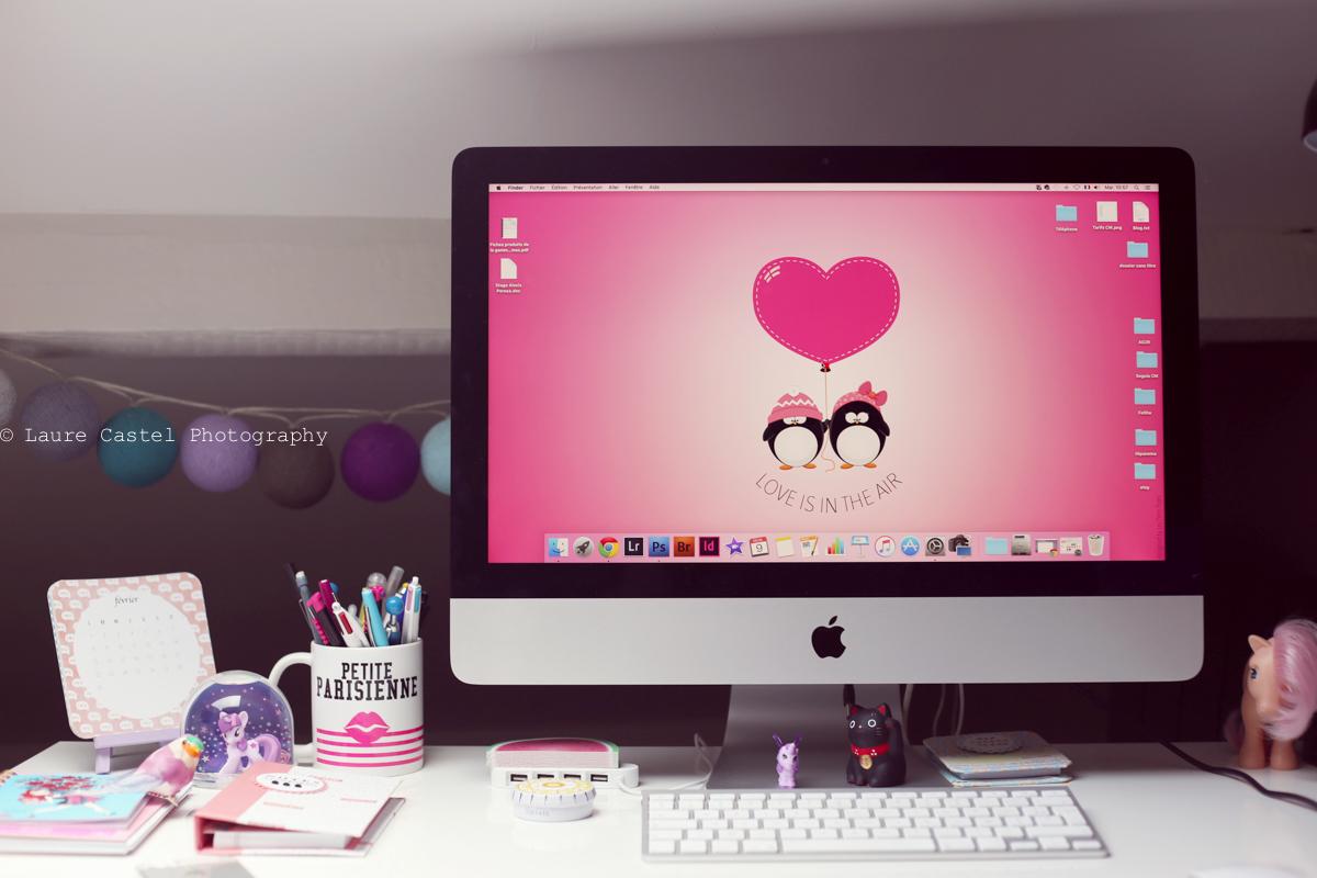 Fond d'écran love saint valentin amour Les Petits Riens