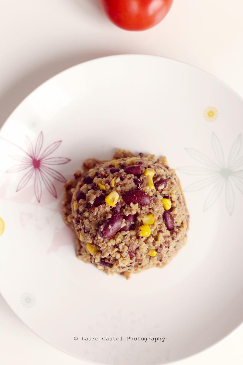 Chili au quinoa protéines végétales recette facile