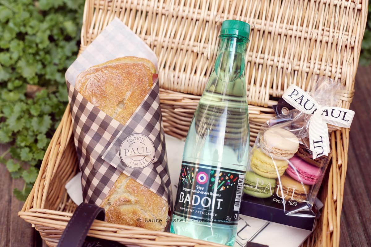 Sandwich Paul au jambon cru d'Auvergne