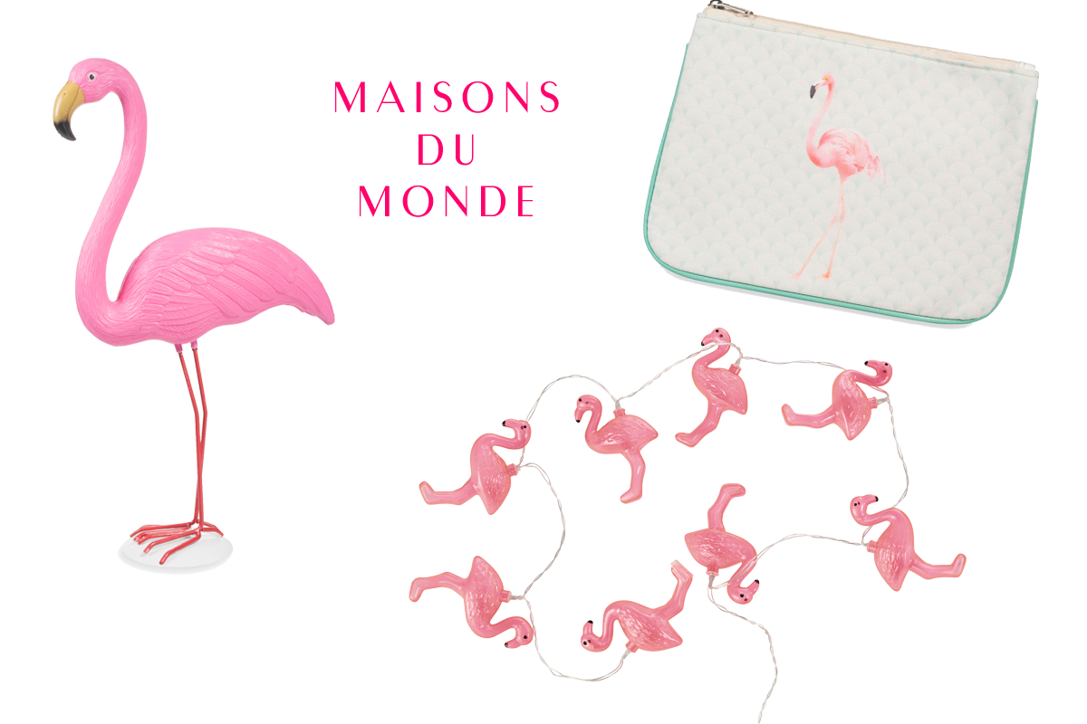 D co la tendance flamant rose les petits riens for Maison du monde willy