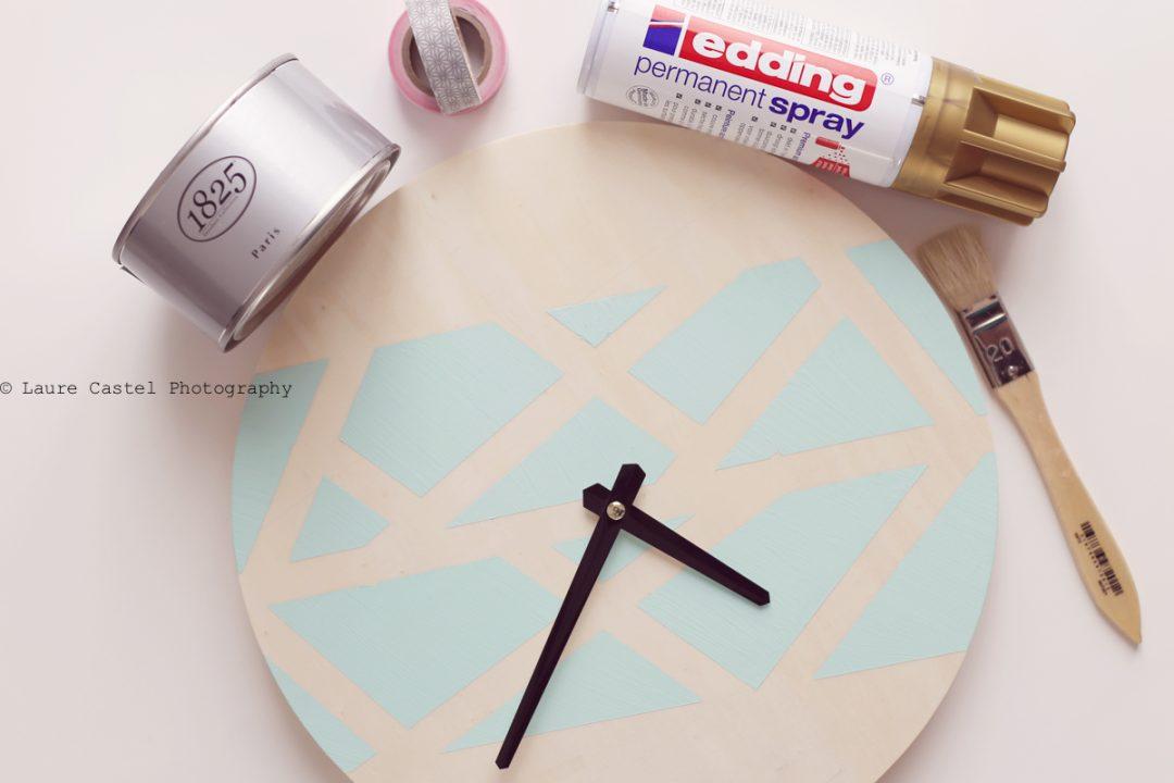 DIY customiser une horloge murale