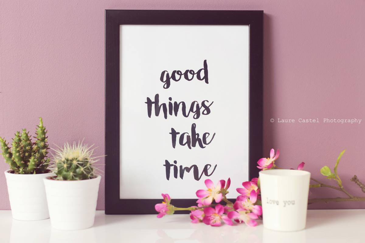Affiche Good Things A4 à imprimer