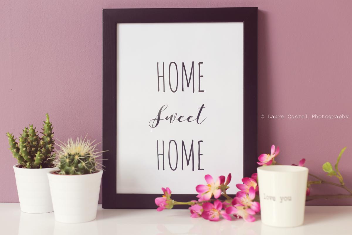 Affiche Home Sweet Home A4 à imprimer