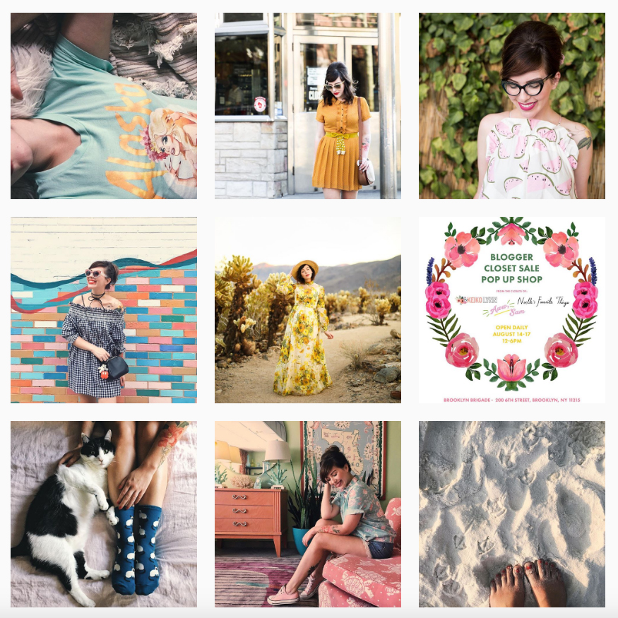 Instagram Keiko Lynn