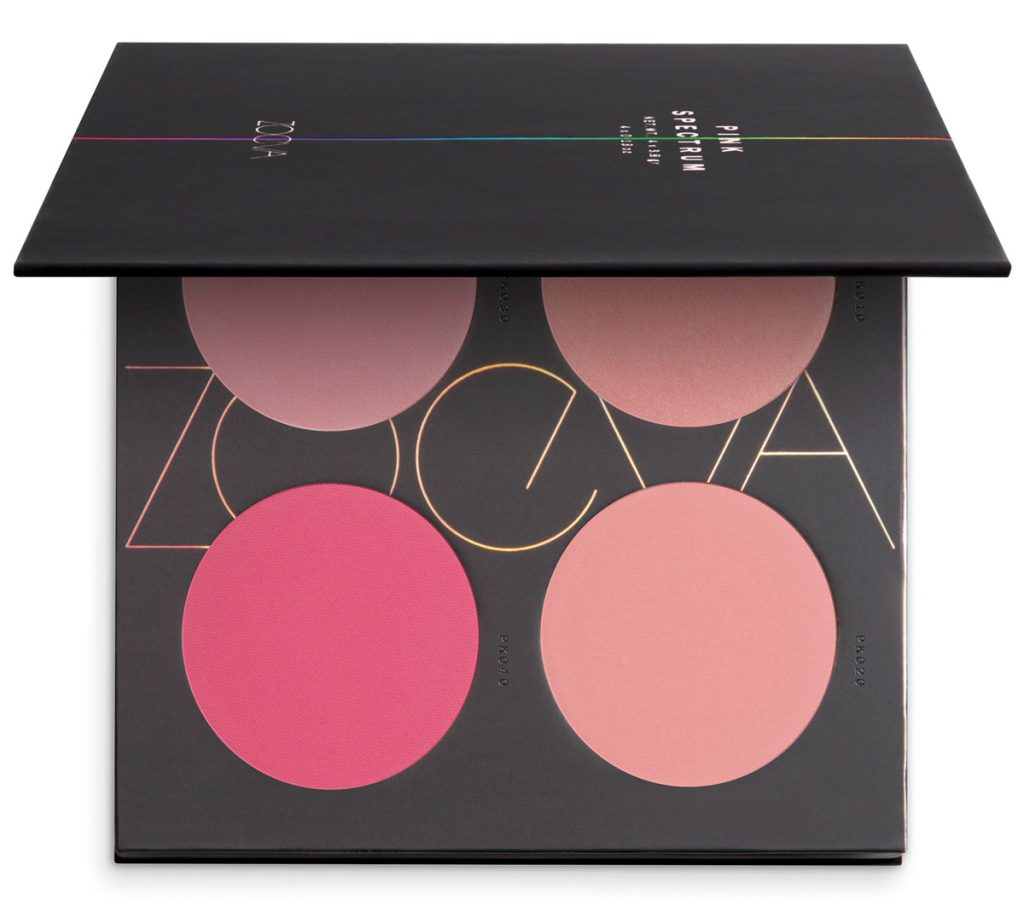 Zoeva palette Pink Spectrum avis