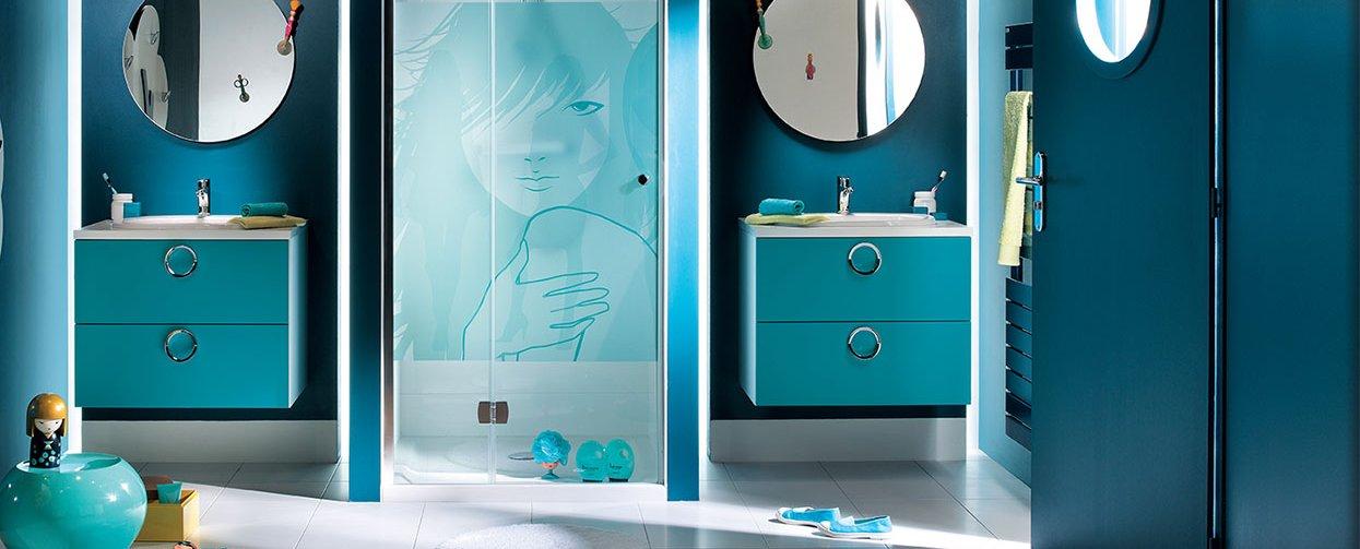 Ma s lection d co pour salle de bain les petits riens for Meuble salle de bain mobalpa