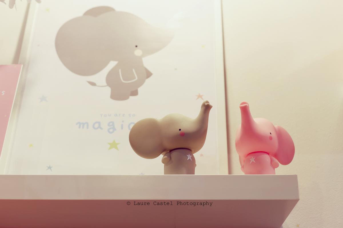 A little lovely company éléphant déco chambre enfant