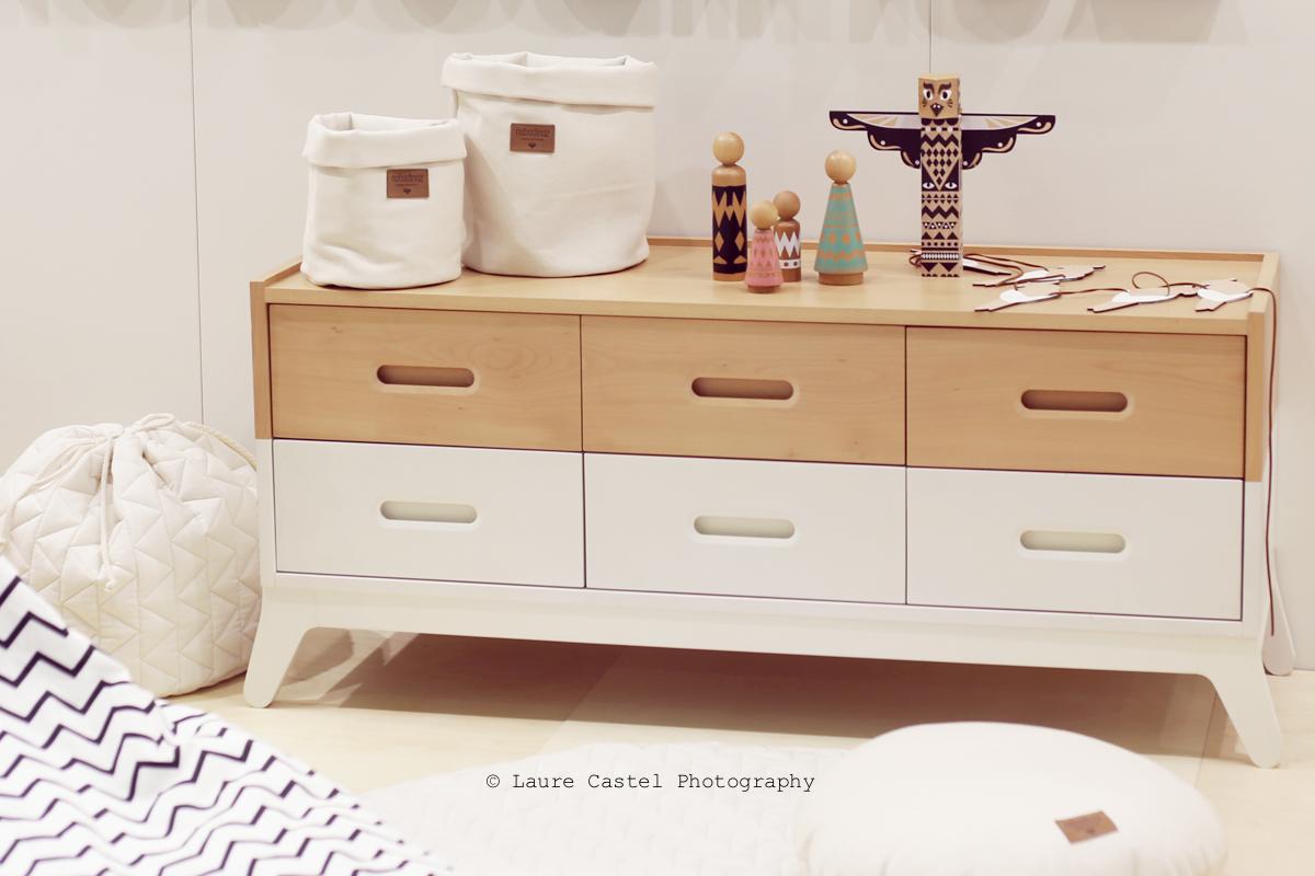 Mobilier chambre enfant scandinave