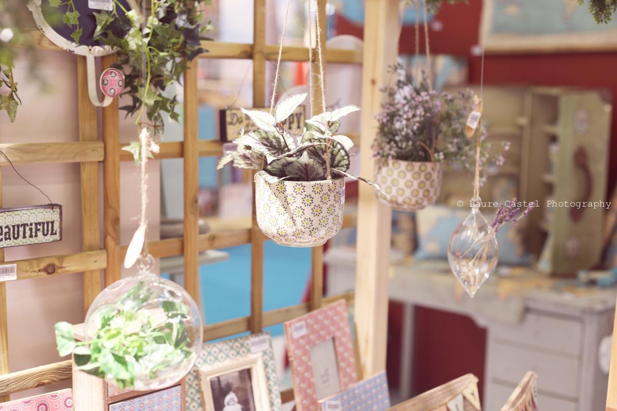 Suspensions florales jolies céramique