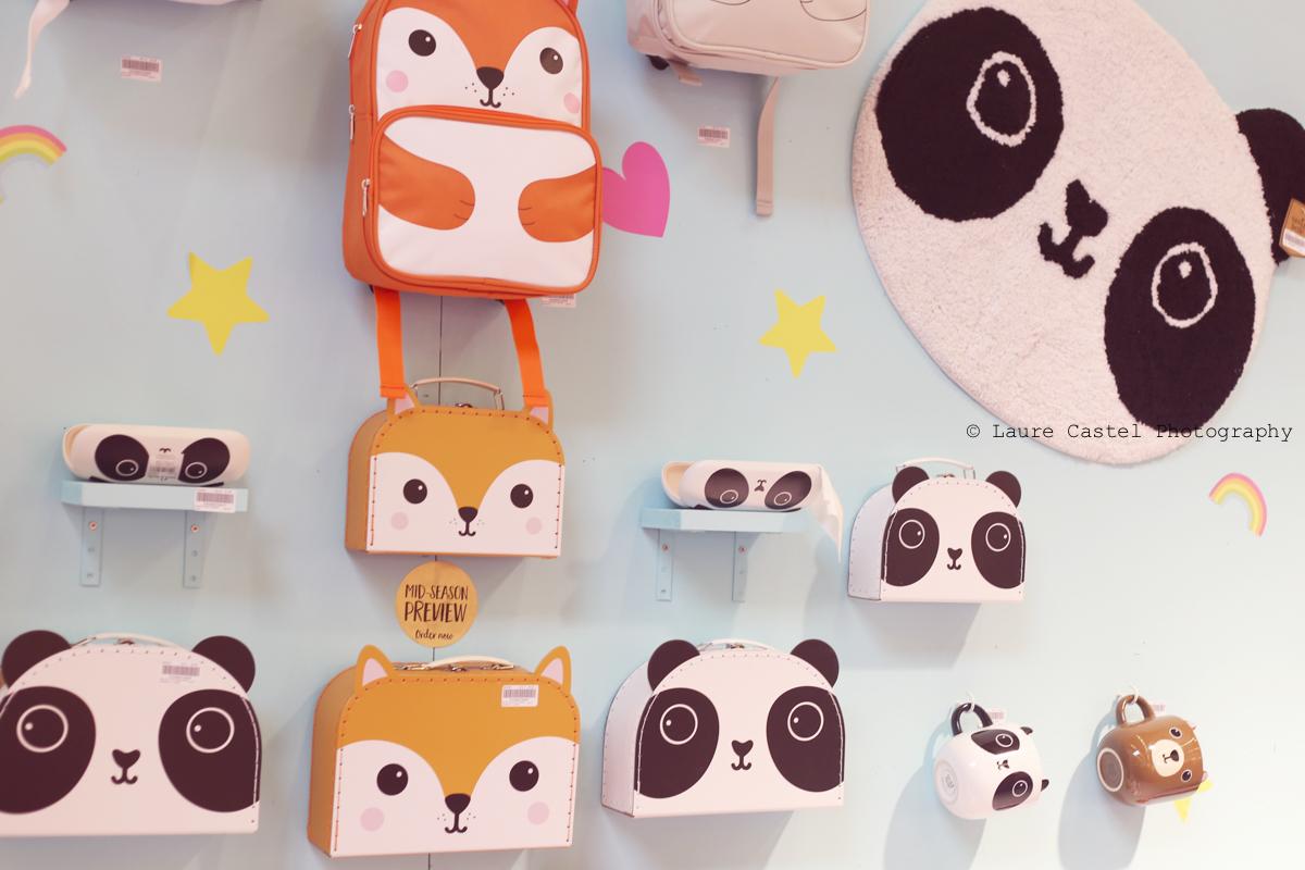 Sass and Belle sac panda renard