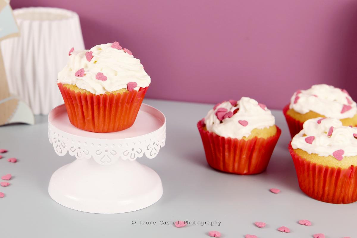 cupcake saint valentin recette