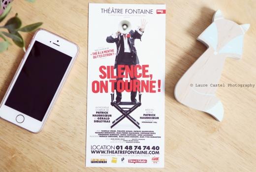 Théâtre Fontaine Silence on tourne avis