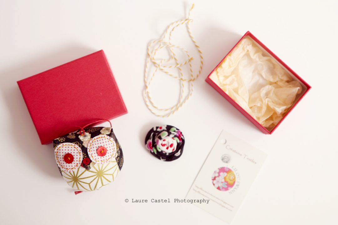 Lilou Swann chouette porte-bonheur japon