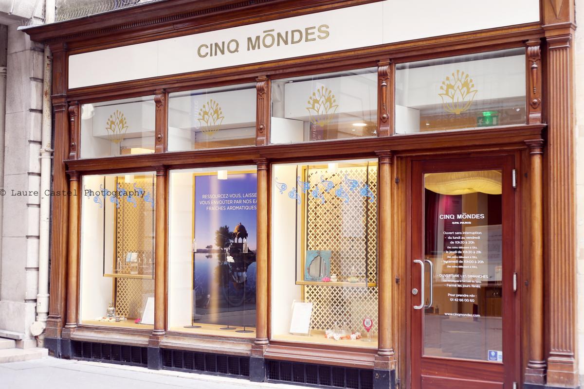 SPA Cinq Mondes Paris adresse