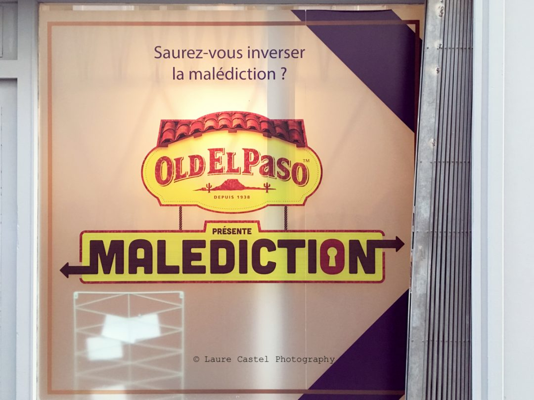 Old El Paso escape game Malediction avis