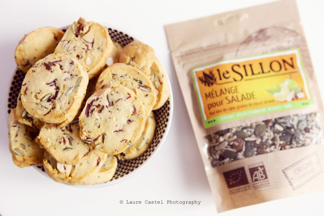 Recette cookies salés aux graines