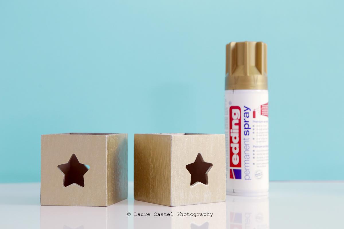 DIY décorer des photophores | Les Petits Riens