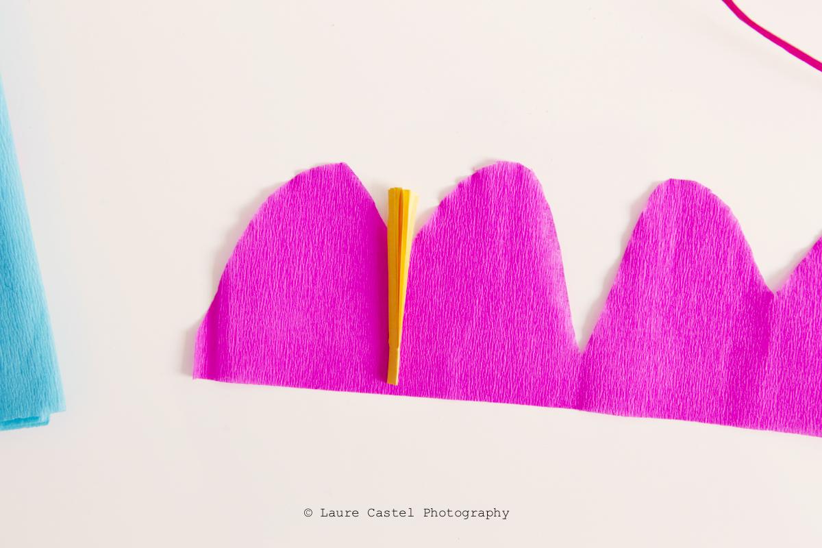 DIY Fleurs exotiques en papier | Les Petits Riens