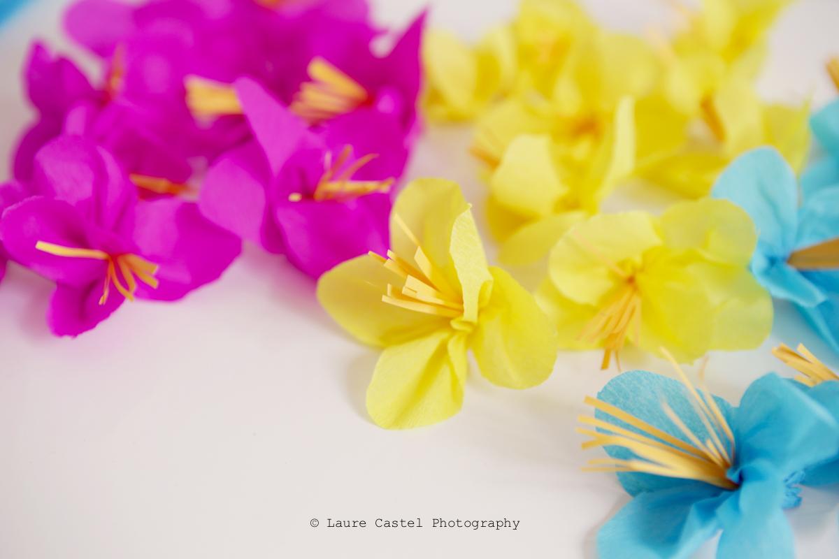 diy r aliser des fleurs exotiques en papier les petits riens. Black Bedroom Furniture Sets. Home Design Ideas