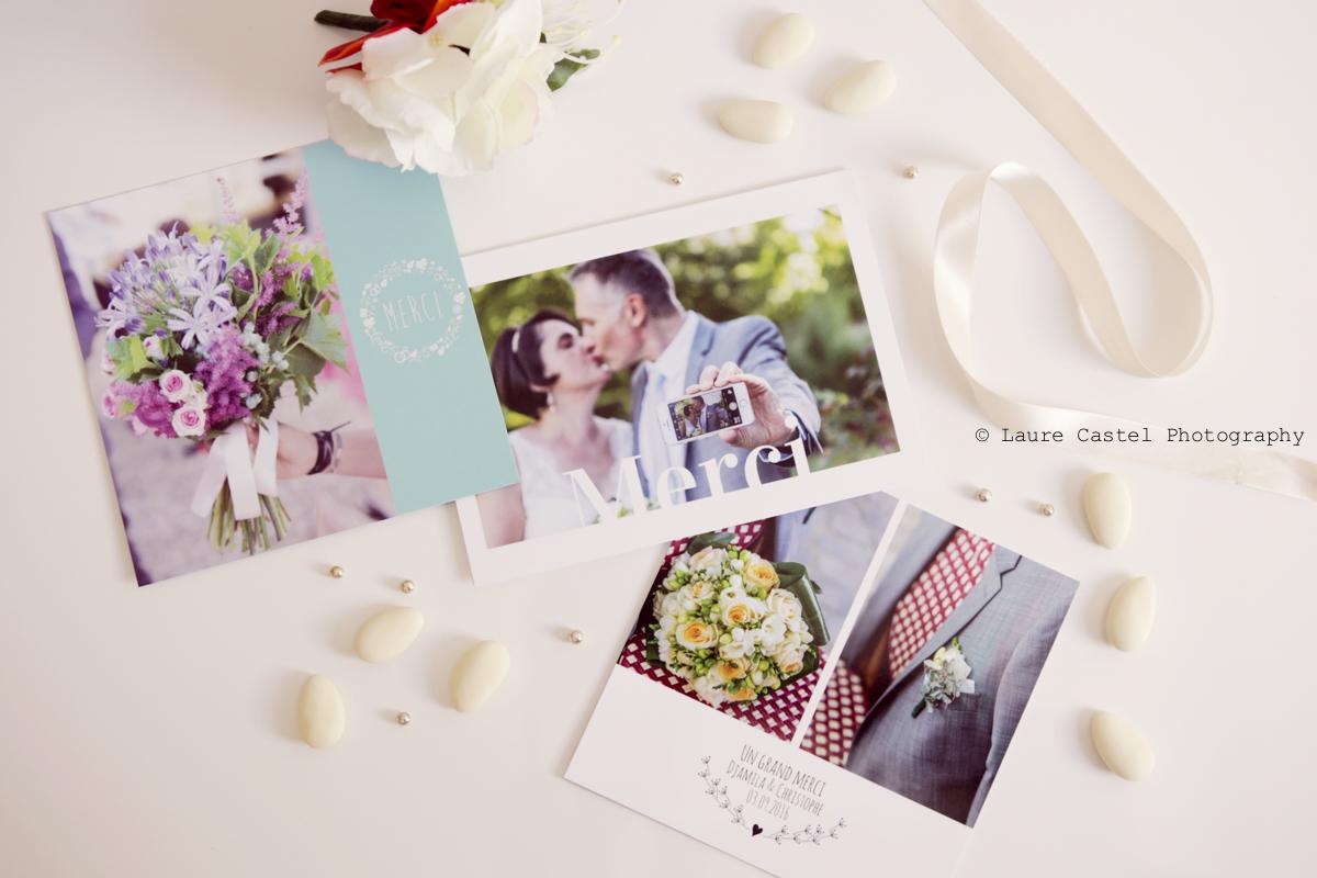 PopCarte carte de remerciement mariage | Les Petits Riens