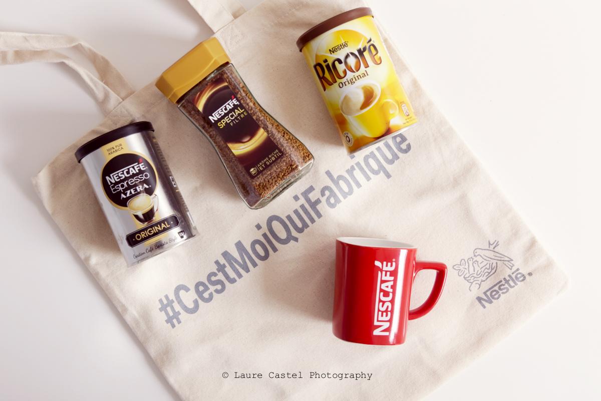 Opération #CestMoiQuiFabrique avec Neslté et Nescafé | Les Petits Riens