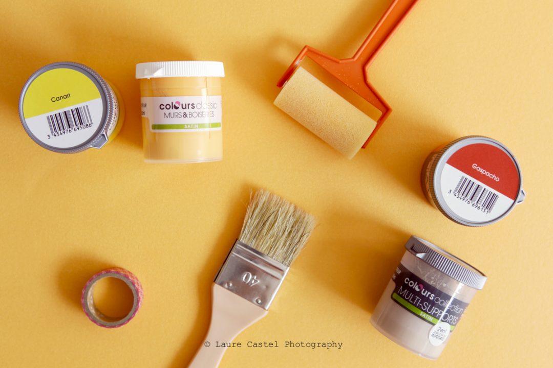 DIY Support de fonds colorés pour photos | Les Petits Riens