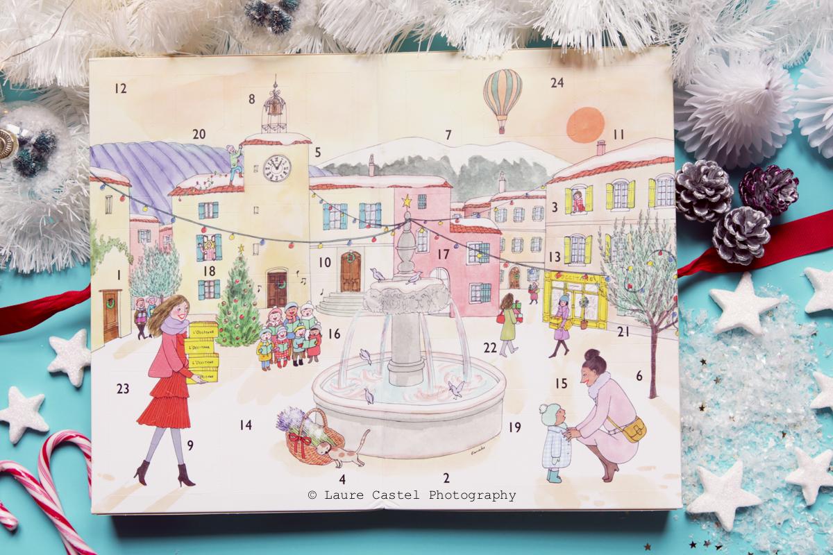 Calendrier de l'Avent l'Occitane 2017 | Les Petits Riens