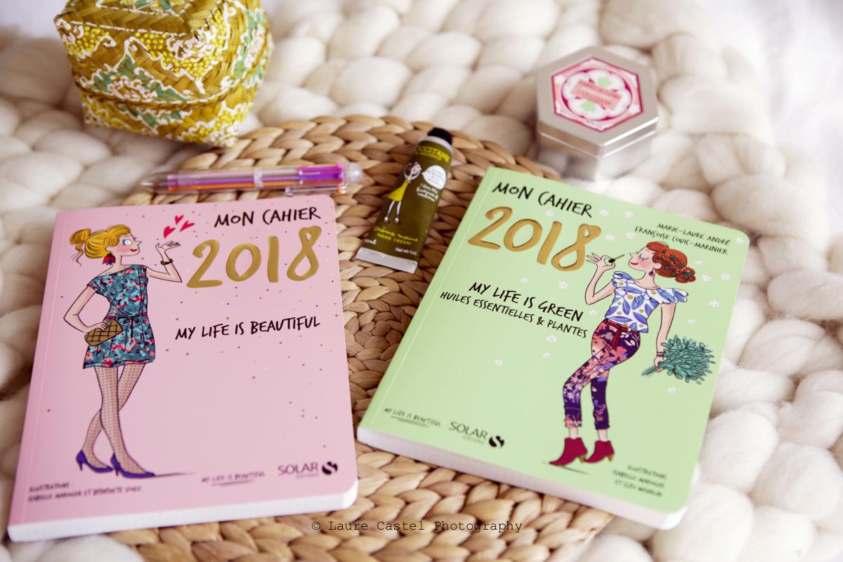 Mon Cahier 2018 | Les Petits Riens