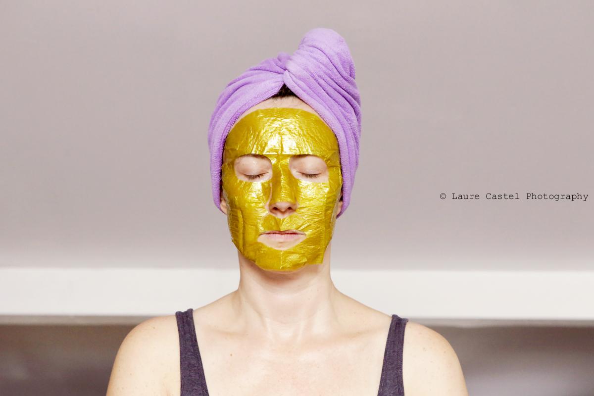 Qiriness masque Wrap d'or | Les Petits Riens